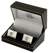 Rangers F.C. - Club Crest Silver Plated Cufflinks