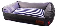 Dog's Life - Retro Lounger Waterproof Winter Bed - Black (X-Large) - Cover
