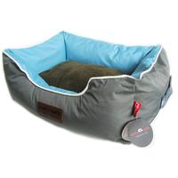 Dog's Life - New Premium Country Waterproof Bed - Grey (X-Large)