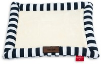 Cat's Life - Soft Spot Stripe Cat Bed - Navy (Large) - Cover