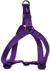 Dog's Life - Reflective Supersoft Webbing Step In Harness - Purple (Medium)
