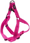 Dog's Life - Reflective Supersoft Webbing Step In Harness - Hot Pink (X-Large)