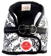 Dog's Life - Damask Harness Vest - Black (Large)