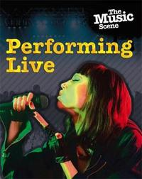Performing Live - Matthew Anniss (Hardcover) - Cover