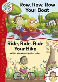 Row, Row, Row Your Boat / Ride, Ride, Ride Your Bike - Wes Magee (Paperback) - Cover
