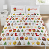 Emoji - Christmas Reversible Duvet Set (Double)