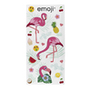 Emoji - Flamingos Towel
