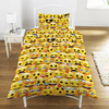 Emoji - Multi Yellow Face Duvet Set (Single)