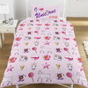 Emoji - Unicorns And Mermaids Reversible Duvet Set (Single)