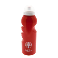 Euro 2016 Crest - Plastic Water Bottle (Red) - Cover