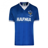Everton 1984 FA Cup Final Shirt (Small) - Cover