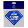 Everton - Club Crest Baby On Board Sign Cover