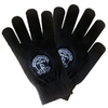 Everton - Club Crest Black Knitted Gloves
