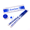 Everton - Club Crest Fade Core Stationery Set (5pc)
