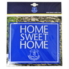 Everton - Club Crest Home Sweet Home Sign