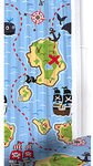 Pirates Curtains - 72 Inch