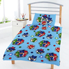 PJ Masks - Badges Reversible Junior Duvet Cover