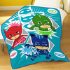 PJ Masks - Time To Be A Hero Fleece Blanket Cover