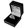 Rangers F.C. - Silver Plated Club Crest Ring (Small)