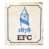 Everton - Retro Club Crest Logo Sign