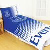 Everton - Club Crest Reversible Fade Duvet Set (Single)