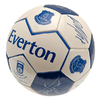 Everton - Club Crest & Printed Players Signature Football (Size 5)