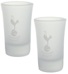 Tottenham Hotspur - Club Crest Frosted Shot Glass (Set of 2)