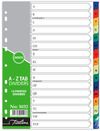 Treeline - A to Z Printed 16 Tab Deep Tint Assorted - A4 (Pack of 10)