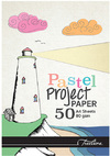 Treeline - A4 Project Pads 80gsm 50 Sheet Pastel (Box of 10)