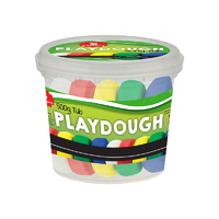 Treeline - Playdough Tub - 5 Assorted Colours (500g) - Cover