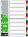 Treeline - A4 Index A to Z Rainbow Printed PVC Divider (26 Part) (Box of 10)