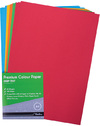 Treeline - Multi Coloured A4 Premium Deep Tint 80gsm Paper (100 Sheets)