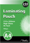 Treeline - A4 250 Micron Laminating Pouches 216 x 303mm (Box of 100)