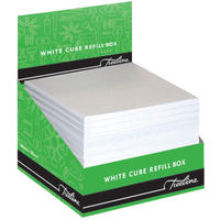 Treeline - 100 x 100mm Cube Refill in perforated box (White)