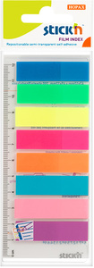 Stick'n - Film Index 45mm x 12mm (Neon) - Cover