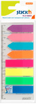 Stick'n - Film Index 45mm x 12mm Strips/Arrows (Neon)