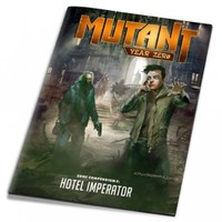 Mutant: Year Zero - Hotel Imperator (Role Playing Game) - Cover