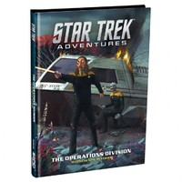 Star Trek Adventures - The Operations Division (Role Playing Game) - Cover