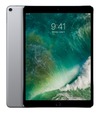 Apple iPad Pro - 10.5 inch - 512GB - WiFi (Space Grey) (UK) Tablet - Cover