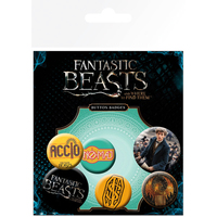 Fantastic Beasts - Assorted Button Badges - Cover