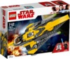 LEGO® Star Wars - Anakin's Jedi Starfighter (247 Pieces)
