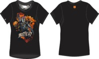 Call of Duty - Black Ops 4 Battery Women's Black T-Shirt (Large) - Cover