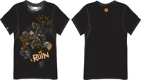 Call of Duty - Black Ops 4 Ruin Men's Black T-Shirt (Large) - Cover