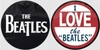Beatles - I Love the Beatles (Slipmat Set)