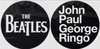 Beatles - John Paul George Ringo (Slipmat Set)