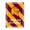 Harry Potter - Gryffindor Varsity (Metal Wall Sign A5)