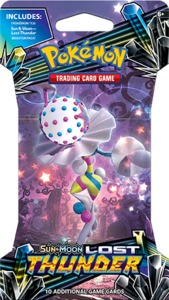 Pokémon TCG - Sun & Moon: Lost Thunder Single Sleeved Booster (Trading Card Game) - Cover