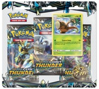 Pokémon TCG - Sun & Moon: Lost Thunder Three Booster Single Booster (Trading Card Game) - Cover