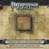 Pathfinder Flip-Tiles - Urban Perils Expansion (Role Playing Game) - Cover