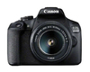 Canon - EOS 2000D Digital Camera with EF-S 18-55mm F/3.5-5.6 IS II Lens and Canon SB130 Bag & 16GB SD Card